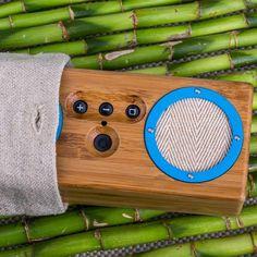 Bongo Bamboo Bluetooth Speaker #bamboo #speakrer #gadget #bluetooth