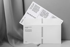 Edouard Malingue Gallery by Lundgren+Lindqvist #envelope #invite