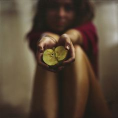 Apple, photography by Miroslav Zhivkov #apple #woman
