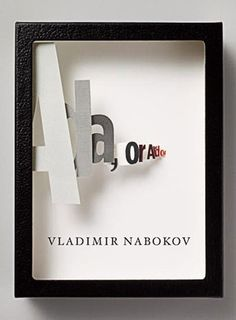 The Book Cover Archive: Ada, or Ardor, design by Chip Kidd™ #cover #diorama #book #pinned