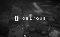 Oblique on the Behance Network #logo
