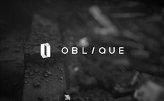 Oblique on the Behance Network #logo