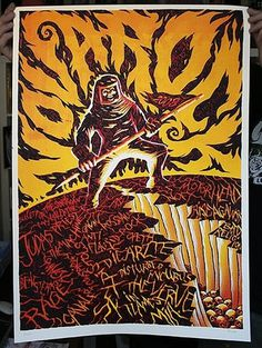 FFFFOUND! | GigPosters.com - Sex Pistols - Rage Against The Machine - Verve, The - Judas Priest - Cavalera Conspiracy - Bad Religion - Beatsteaks - Bu #gigposter #silkscreen
