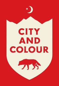 City and Colour #red #doublenaut #city #crest #and #colour