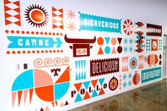 Work Image #illustration #wall #identity