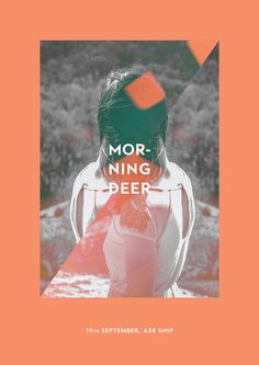 Morningdeer - The visual work of Tamas Horvath #poster #flyer #music #artwork #print #event #photography