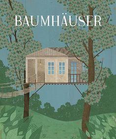 Baumhäuser | Flickr: Intercambio de fotos #illustration #chipirilox