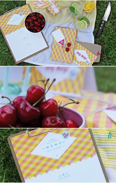 Sarah macht Sachen 2.0 #christmess #wrap #christmas #cherry #summer #stationery #paper