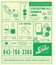 Spike print ad #2 - fuzzco