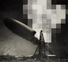 88c297d877e68989dd488adfae81e3f1_L.jpg (640×585) #diagram #pixel #digital #fly #disaster #hindenburg #blimp #grey