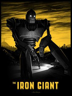 The Iron Giant - Mike Mitchell #giant #mitchell #iron #mike