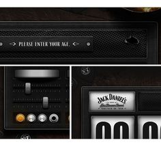 Jack Daniel's & Zac Brown Band - Daran Brossard Creative Co. / DBCCo. #filigree #design #pixel #daniels #app #jack #web