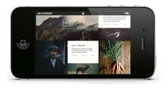 Noma Authentic | Website #design #website #minimal #layout #web
