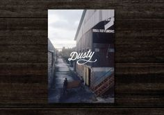 dusty #print #design #cover #dusty #magazine #typography