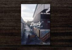 dusty #print #design #cover #dusty #magazine #typography