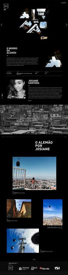 Favelagrafia - Mindsparkle Mag - Favelgrafia beautiful website webdesign minimal sotd site of the day award mindsparkle mag video graffiti s