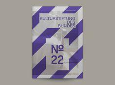 Magazin No. 22 der Kulturstiftung des Bundes on Behance #magazine