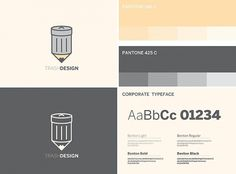 Trash Design on the Behance Network #design #corporate #colors #trash #type