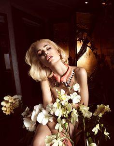 Nadja Bender by Camilla Akrans for Vogue Japan