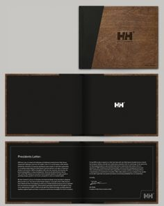 Helly Hansen Annual Report Concept #helly #white #design #book #annual #hansen #lasercut #report #shelby