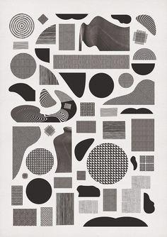 Pattern Alphabet. | momogoods.