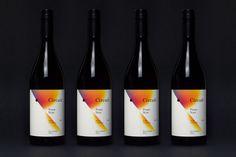 wine, gradient, packaging