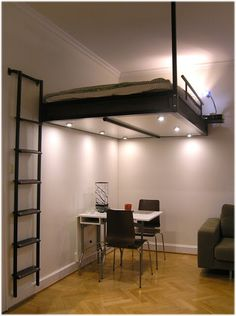 Loft bed from the Swedish company Compact-living