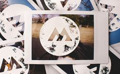 Embossing on Polaroids #emboss
