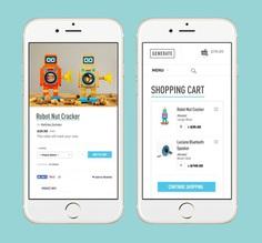 Generate | JOYCE #minneapolis #UI #UX #ecommerce #mobile #cart