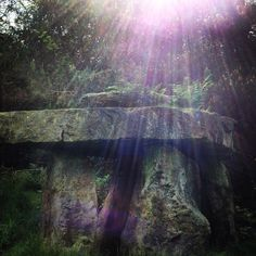 Pagan Stone Circle Sun burst Solstis Druid