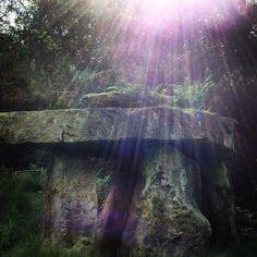 Pagan Stone Circle Sun burst Solstis Druid