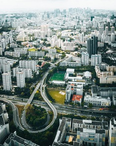 Singapore From Above: Stunning Drone Photography by Johannes Höhn