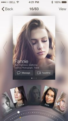 Profile Card by JOMMANS #profile #card #design #ui #app