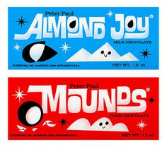 Flickr Photo Download: Sometimes you feel like a nut! Sometimes you don't. #almond #joy #illustration #mounds