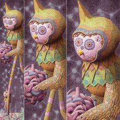 Tall Bird | Showchicken | Artwork and Illustration by Nick Sheehy #illustration #art