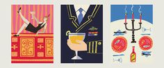 DKroll_Vintage_Cocktails_10 #illustration #layout