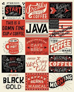 The hand lettered illustrations of Mary Kate McDevitt | StockLogos.com #lettered #red #mary #black #mcdevitt #kate #type #hand #typography