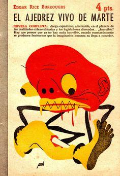 Manolo Pireto - Illustration for Edgar Rice Burroughs