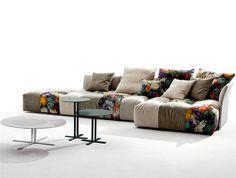 Modular Upholstered Sofa by Sergio Bicego - #design, #furniture, #modernfurniture