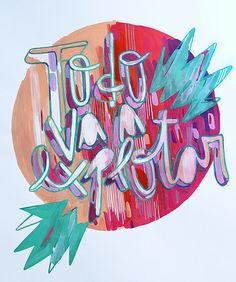 todo va a explotar | Pablo López #type #illustration #art