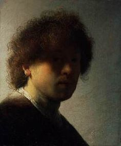 Rembrandt, Self-portrait (1628-1629)