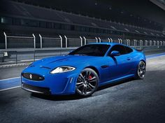 Jaguar XKR-S - Supercars.net #blue #racing #jaguar #car