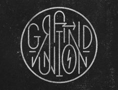 Grand Union Design Group #vintage #logo #identity #blackandwhite