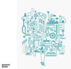 Artcrank Blue Edition par Basemint Design