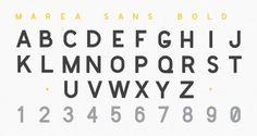Marea: A Marine Typography « daniel cbs