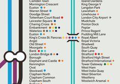 Mash Creative #underground #infographics #tube #metro #signage