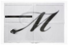 Michael Freimuth #blackwhite #print #newspaper #minimal #layout #brochure #typography