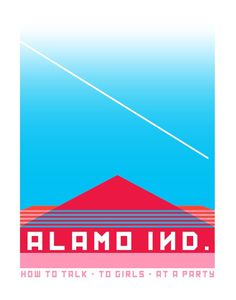 Alamo ind. on Behance #party #color #magenta #alamo #living now #to girls