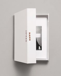 Wesley Mann by Heydays #logotype #logo #print #metallic foil #box #photo
