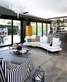 Summer House by Selina Kazazoglu summer house 13 #interior #design #floor #flooring #rugs #carpets